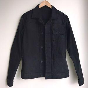 All Saints Brook Black Denim Jacket
